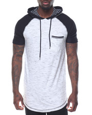 Buyers Picks - Raglan S/S Hoodie w Print Detail