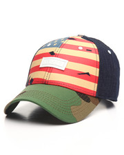 Men - DENIM CAMO FLAG CAP