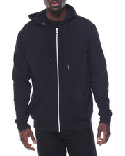 Basic Essentials - Basic Lightweight French Terry Zip - Up Hoodie