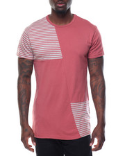 Buyers Picks - Stripe - Panel Color - Block S/S Tee
