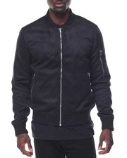 Men - Microfiber Bomber Jacket