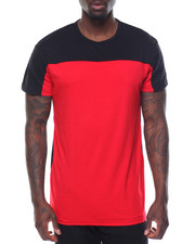 Men - Color Block S/S Tee