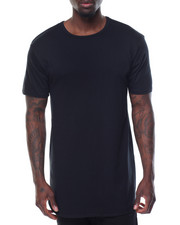 Men - Curved Bottom Elongated S/S Tee