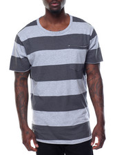 Men - Washed Rugby - Stripe Pocket S/S Tee