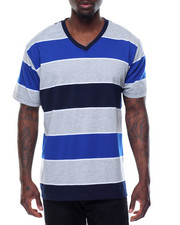 Basic Essentials - Thick - Stripe Tarn - Dyed Striped S/S Tee
