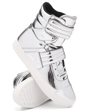 Footwear - Cylinder Strap High Top Sneaker