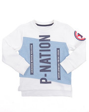 Boys - P-NATION CREWNECK SWEATSHIRT (4-7)