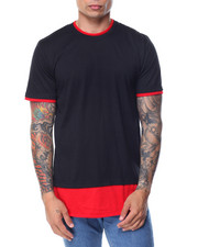 Buyers Picks - Round - Bottom Contrast - Layer S/S Tee