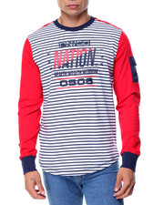 Parish - L/S Striped T-Shirt