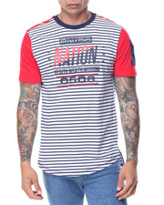 Parish - S/S Striped T-Shirt