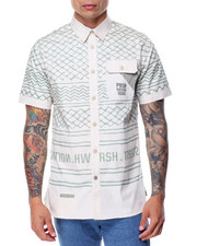 Men - S/S Printed Button-Down