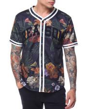 Shirts - HANA FLORAL BASEBALL TEE