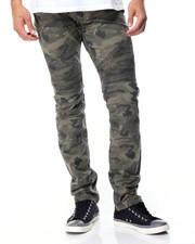 Jeans & Pants - FRONTLINE CAMO BIKER JEANS