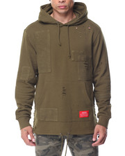 Men - TAFT DISTRESSED FRENCH TERRY HOODY