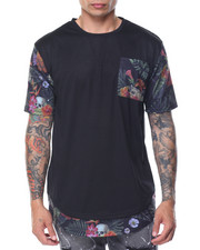 Shirts - HANA FLORAL POCKET TEE