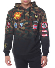 Men - PATCHES HOODY