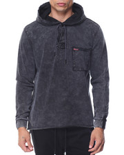 Crooks & Castles - Fury L/S Hooded Rugby