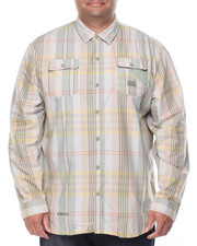 Shirts - L/S Plaid Button-Down (B&T)