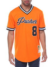 Shirts - Pusher / Pay Me S/S Baseball - Style Jersey