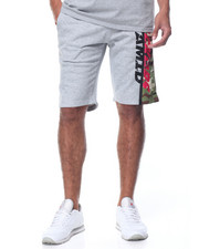 Men - Black Ops Leg - Zip Drawstring Shorts