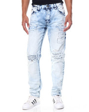 Men - Knee Blast Denim Jean