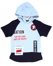 Hoodies - P-NATION S/S HOODY (4-7)