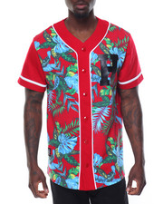 Buyers Picks - S/S Floral Baseball Jersey