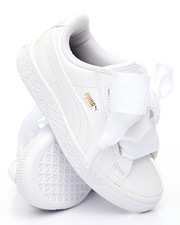 Footwear - BASKET PATENT HEART SNEAKERS (11-3)