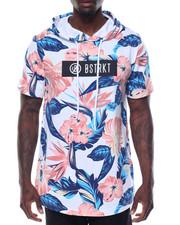 Men - Allover Floral Print Hoodie