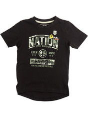 Boys - PEACE OUT GRAPHIC TEE (4-7)