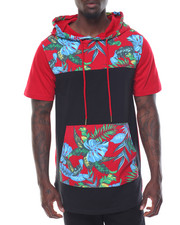 Buyers Picks - S/S Floral print Scoop Hoodie