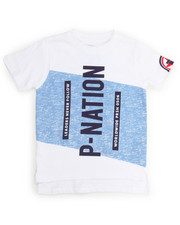Boys - P-NATION LOGO TEE (4-7)
