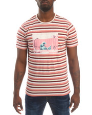 Men - SHADES OF STRIPE S/S TEE