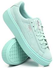 Footwear - PUMA PLATFORM RESET SNEAKERS
