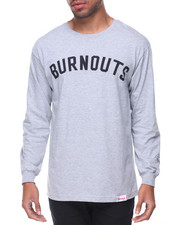 T-Shirts - Burnout L/S Tee