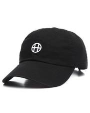 Men - Circle H Curve Visor Strapback Cap