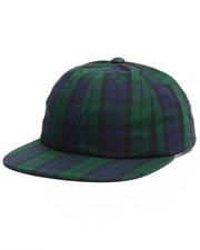 Hats - Tartan Script Strapback Cap