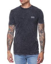 Men - Acid Wash Bar Logo Tee