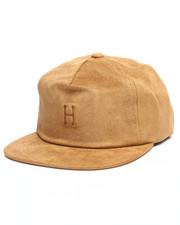 HUF - Suede Strapback Cap