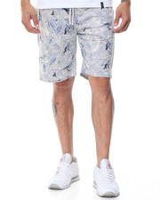 Men - Nautical - Print French Terry Shorts