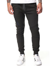 Men - Side - Zip Tech Fleece Joggers