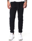 Cinched Twill Jogger