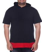 Layered - Accent Hooded S/S Tee (B&T)