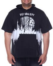 Flysociety - S/S Skull Hoodie (B&T)