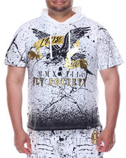 Shirts - S/S Splatter Hoodie (B&T)