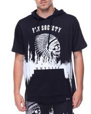 Flysociety - S/S Skull Hoodie
