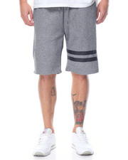 Basic Essentials - Two - Stripe Tech Fleece Shorts