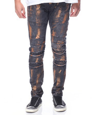 Jeans & Pants - Rigid Twill Pant w Rose Gold