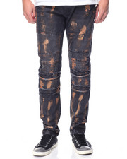 Men - Rigid Twill Pant w Rose Gold