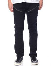 Jeans & Pants - Twill Zipper Biker Pant